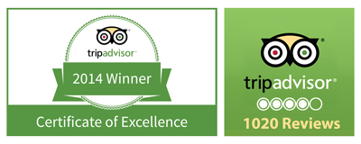 tripadvisor muthu hotels certificate of excellence