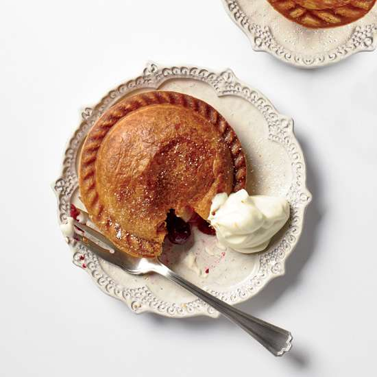 pear cranberry hand pie