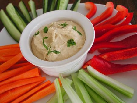 Vegetables with Hummus.jpg