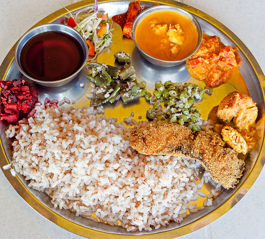 Food at Sharda restaurant in Bambolim