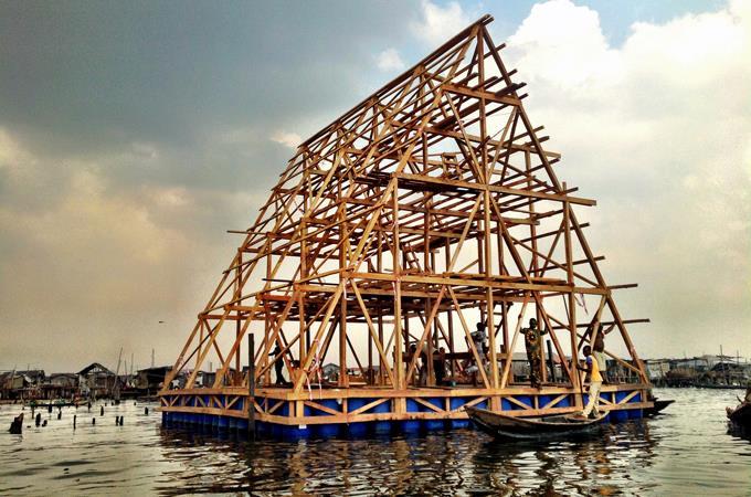 Makoko Floating School. Lagos, Nigeria